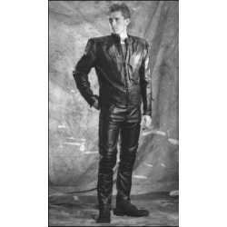 Apollo V Leather Jacket with Snap Out Liner  BK 42