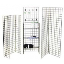 GRID RACK OMAHA 2'X6' BLACK