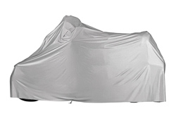 GUARDIAN® PVC MOTORCYCLE COVER Gray XLG