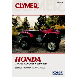 Clymer Manual TRX350 Rancher, 2000-2006