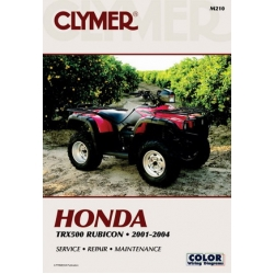 Clymer Manual TRX500 Rubicon, 2001-2004