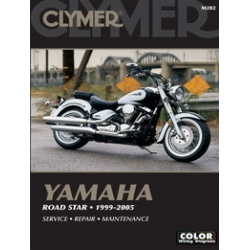 Clymer Manual Road Star, 1999-2007