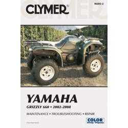 Clymer Yamaha Grizzly 660 2002-2008
