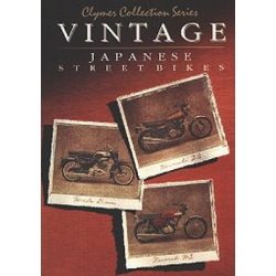 Clymer Collection Series-Vintage Japanese Street Bikes