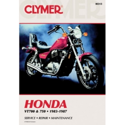 Clymer Manual VT700 and 750, 1983-1987
