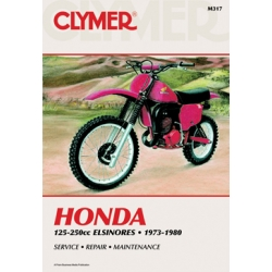 Clymer Manual 125-250CC Elsinores, 1973-1980
