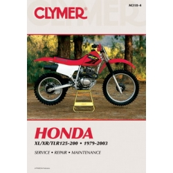 Clymer Manual XL/XR/TLR125-200, 1979-2003