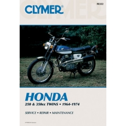 Clymer Manual 250 and 350CC Twins, 1964-1974