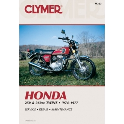 Clymer Manual 250 and 360CC Twins, 1974-1977