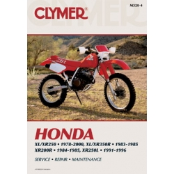 Clymer Manual XL/XR250, 1978-2000, XL/XR350R, 1983-1985, XR200R, 1984-1985, XR250L, 1991-1996