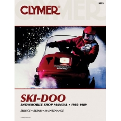 Clymer Manual SKI-DOO SNOWMOBILE 1985-1989