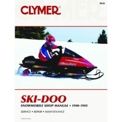 Ski-Doo Snowmobile, 1990-1995