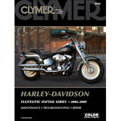 Clymer Manual FLS/FXS/FXC Softail Series 2006-2009