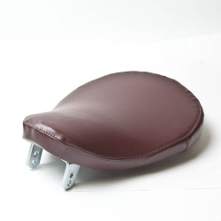 Smooth Tan Vinyl Solo Seat