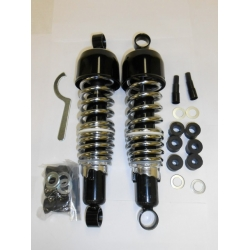 Shock Absorbers Black with Shroud 292mm E-E