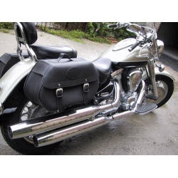 Click and Lock Saddlebags Yamaha Drag Star